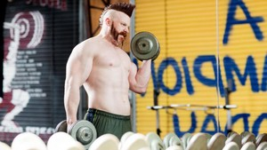 WWE Body Series - Sheamus: foto's