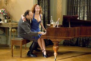 Waldemar Kobus as Gunther Franken and Halina Reijn as Ronnie