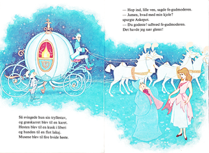 Walt Disney کتابیں - Donald Duck's' Bookclub: Cinderella (Danish Version)
