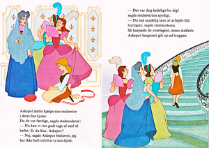 Walt Disney Books - Donald Duck's Bookclub: Sinderella (Danish Version)