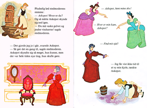 Walt Disney libri - Donald Duck's Bookclub: Cenerentola (Danish Version)