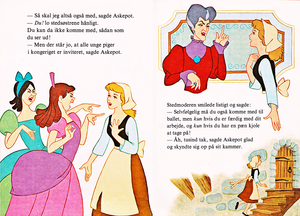 Walt disney libros - Donald Duck's Bookclub: cenicienta (Danish Version)