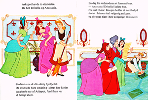 Walt Disney boeken - Donald Duck's Bookclub: Cinderella (Danish Version)