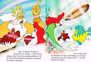 Walt Disney boeken - Donald Duck's Bookclub: The Little Mermaid (Danish Version)
