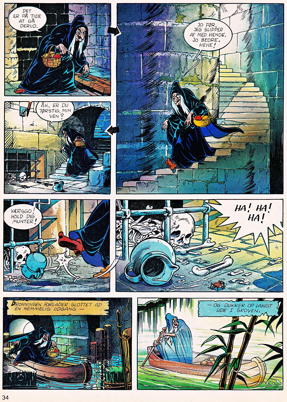 Walt 디즈니 Movie Comics - Snow White and the Seven Dwarfs (Danish 1992 Version)