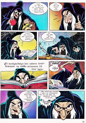 Walt Дисней Movie Comics - Snow White and the Seven Dwarfs (Danish 1992 Version)