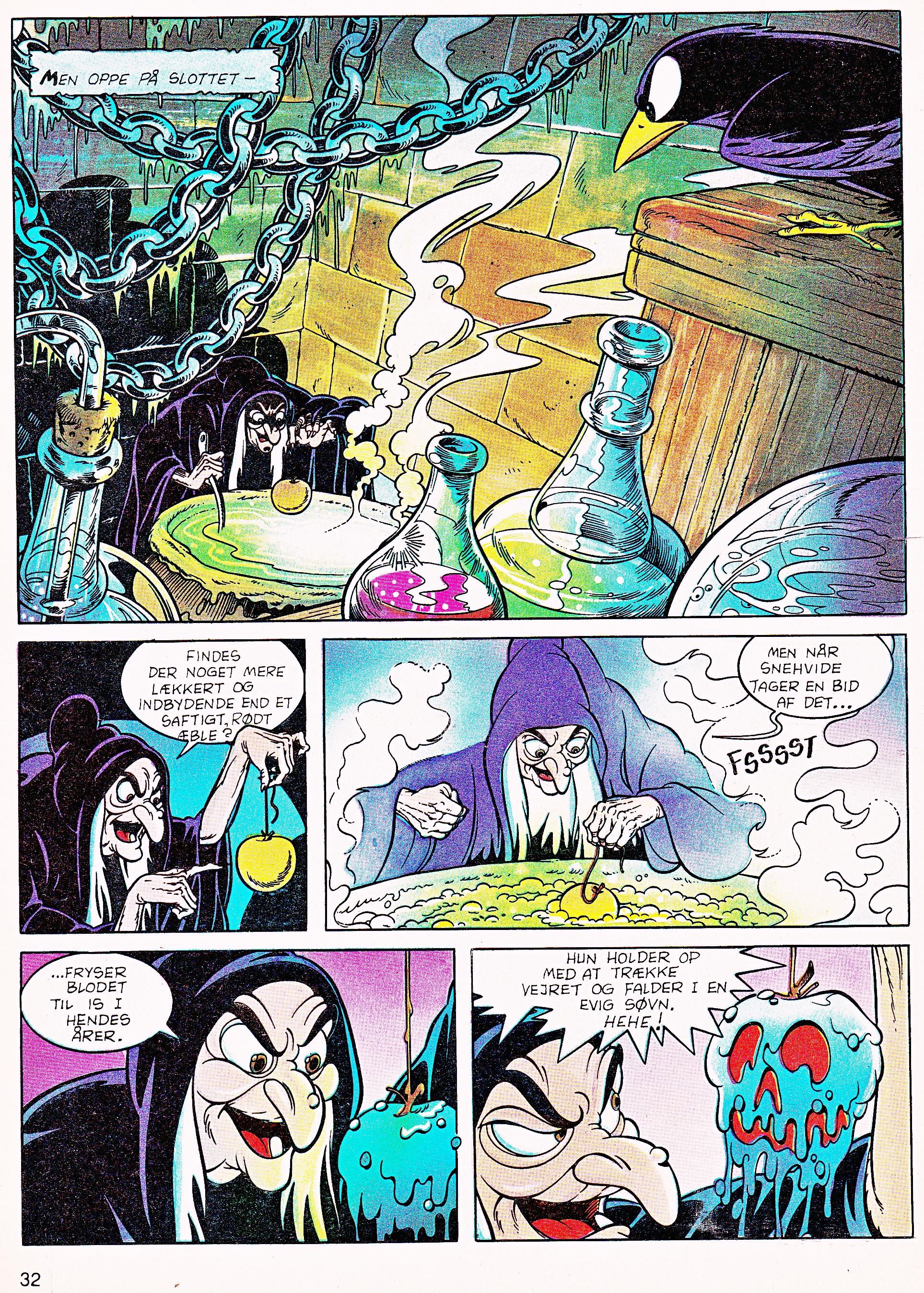 Walt Disney Movie Comics - Snow White and the Seven Dwarfs (Danish 1992 Version)