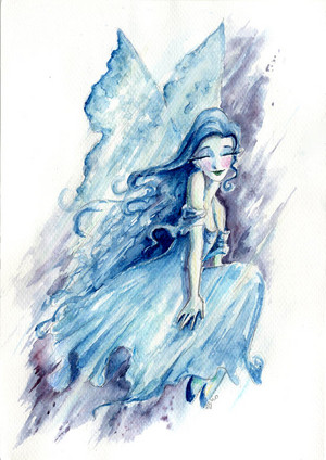 Water Fairy (Painting)