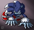 Werehog - sonic-the-hedgehog fan art