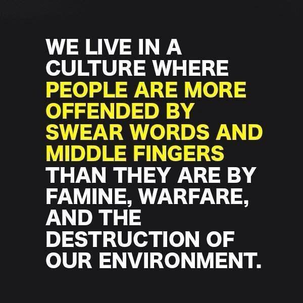 What We're Offended سے طرف کی