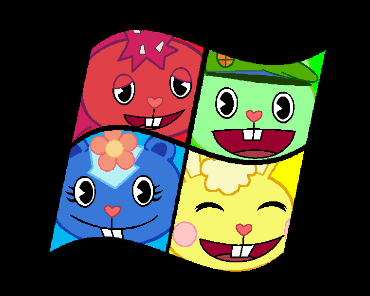 happy tree friends images windows hd wallpaper and background