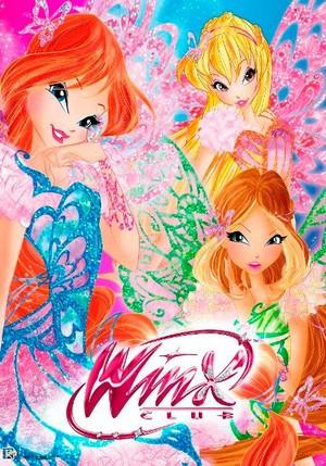 Winx Club Butterflix Wallpaper!
