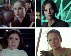 Women of estrella Wars