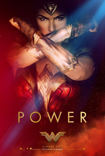 Wonder Woman (2017) fond d'écran containing animé entitled Wonder Woman (2017) Poster