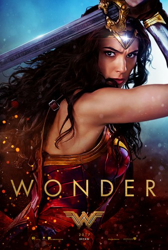 Wonder Woman (2017) پیپر وال titled Wonder Woman (2017) Poster