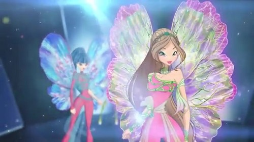 Winx Club fond d'écran probably containing a bouquet entitled World of Winx - Dreamix