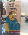 Worst. Lunch Bag. Ever. - the-simpsons fan art