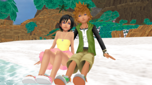 Xion Seashell and Ventus Wind