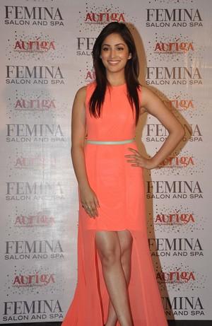 Yami Gautam at Femina magazine launch