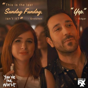 You're the Worst Season 3 frases