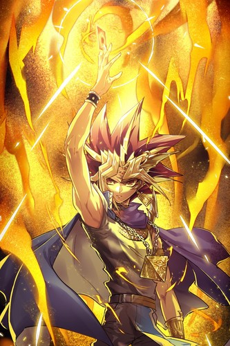 Yu gi oh images yu gi oh atem hd fond dcran and background yu gi oh fond dcran probably with a feu and anim titled voltagebd Gallery