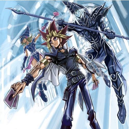 Yu-Gi-Oh fond d'écran containing animé entitled Yu-Gi-Oh! - Atem