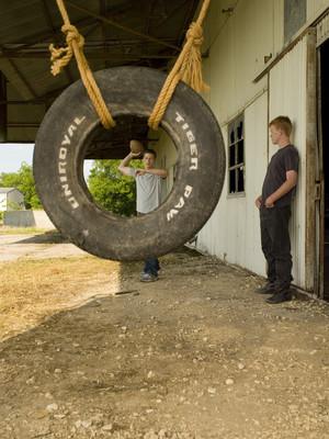 Zach Gilford as Matt Saracen and Jesse Plemons as Landry Clarke