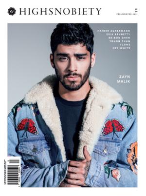 Zayn on the Cover of 'HIGHSNOBIETY'