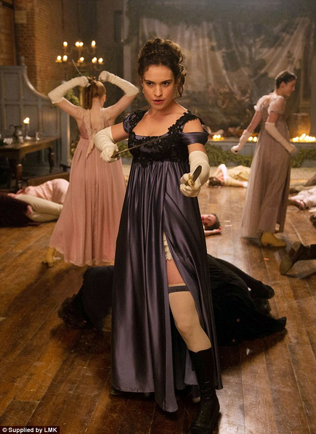 Pride and Prejudice and Zombies images Zombie Fight at Meryton Ball ...