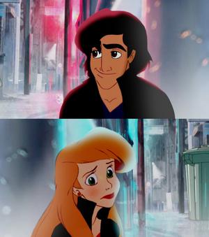 ariel and Aladdin và cây đèn thần