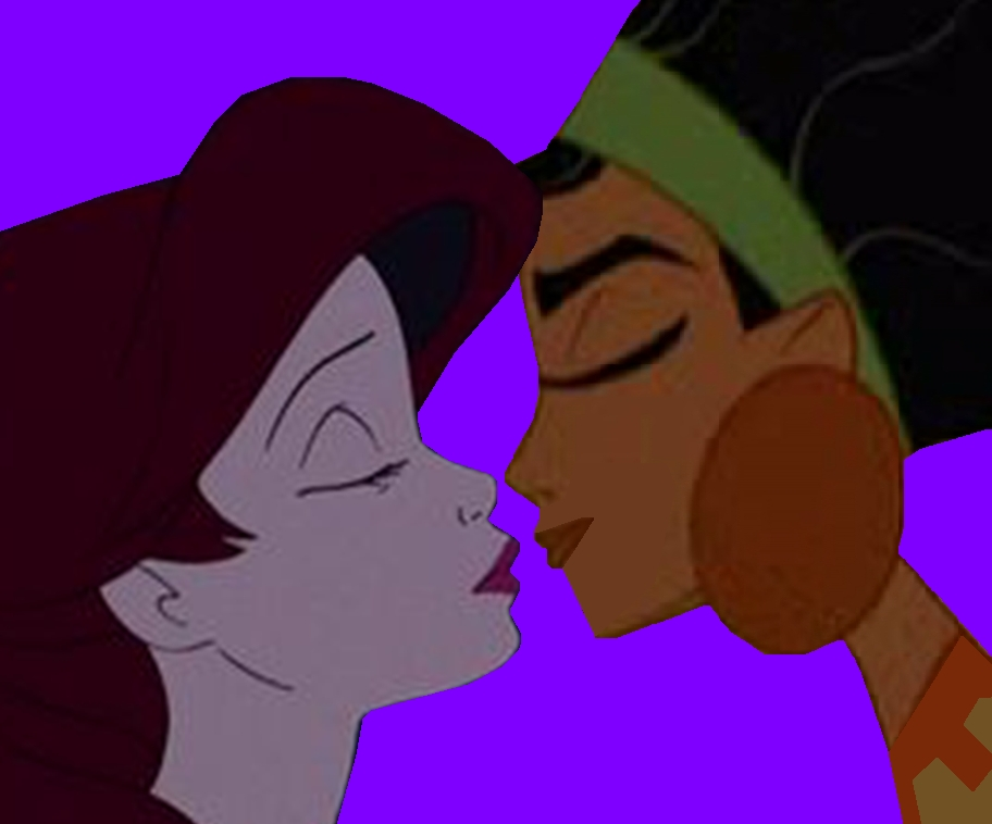 ariel and chicha are to kiss