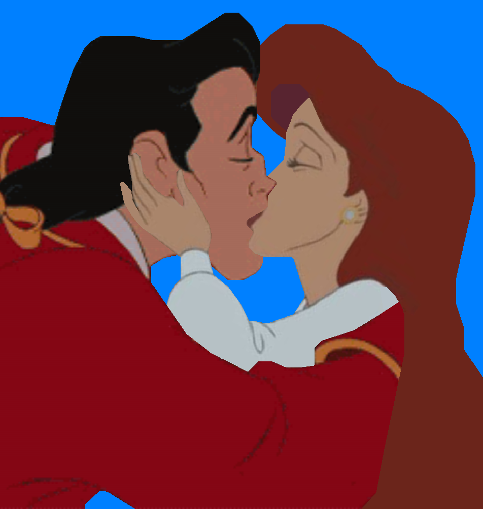 ariel and gaston kiss.PNG