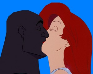 ariel and joshua sweet Kiss