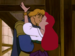ariel and phoebus kiss - disney-crossover icon