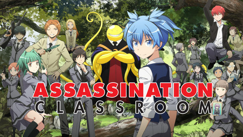 Assassination Classroom karatasi la kupamba ukuta probably containing anime entitled assassination classroom