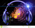 du son de la musique et des couteurs 24285934 - music fan art