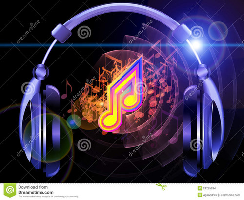 âm nhạc hình nền entitled du son de la musique et des couteurs 24285934