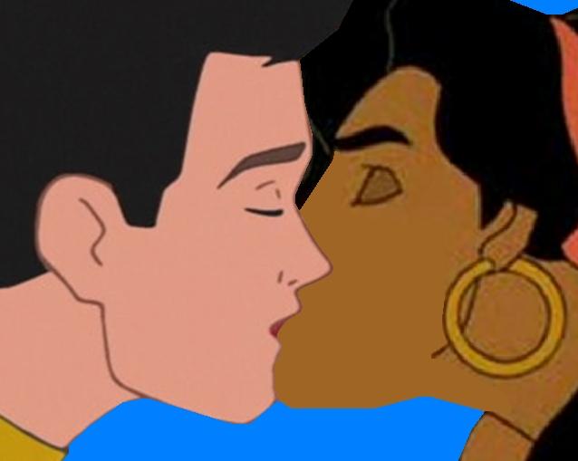 esmeralda and charming Kiss