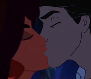 Jasmine & Eric Kiss
