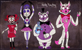 fnaf sister location por atlas white da402lj
