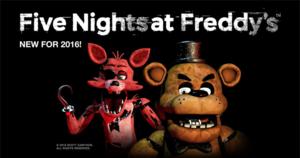 fnaf Hintergrund of fnaf 1 release
