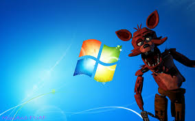 Five Nights at Freddy's پیپر وال possibly with a meteorological balloon titled foxy peek a boo