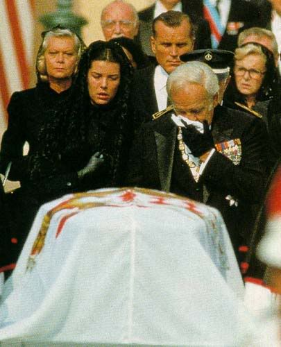 beroemdheden who died young achtergrond entitled grace kelly funeral