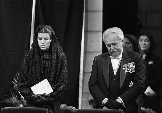 Grace Kelly Funeral Celebrities Who Died Young Photo 39957404 Fanpop