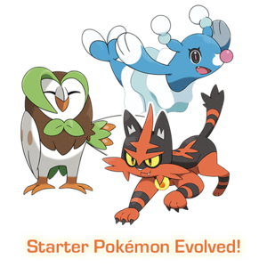 Dartrix, Torracat and Brionne
