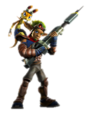 jak and daxter with his pants playstation all star - jak-and-daxter photo