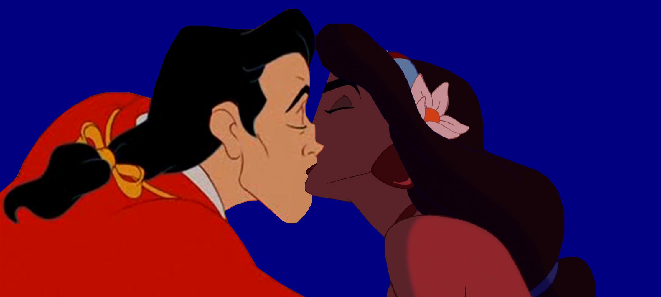 jasmine and gaston kiss.PNG