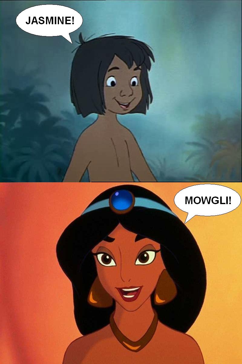 jasmine meets again his girlfriend jasmine