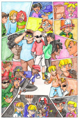 Codename: Kids tiếp theo Door hình nền containing anime called kids tiếp theo door bởi gabbie
