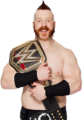 sheamus heavyweight champion 2015 - sheamus fan art